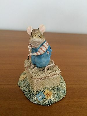 Brambly Hedge BHF22 Wilfred Classic Collectibles SIGNED Jill Barklem L/E RARE