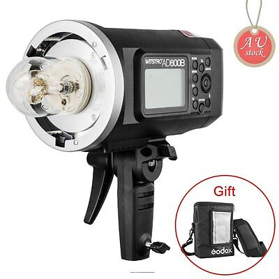 AU Godox AD600B HSS TTL Flash Strobe Light + PB-600 Portable Bag (free gift)