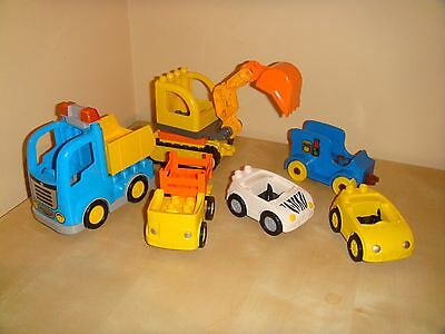 Lego Duplo Vehicle Lot In Excellent Used Condition