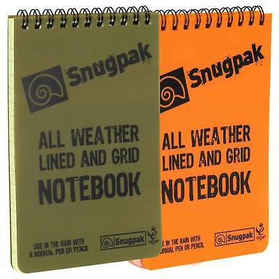 Snugpak A6 Pocket Waterproof Notebook Notepad Paper 50 Page Military Army Hiking