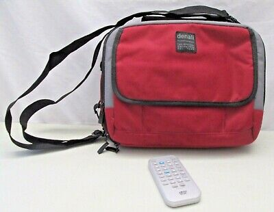 Denali DVD Player Soft Travel Case Holder Bag with DVD Video Remote Control
