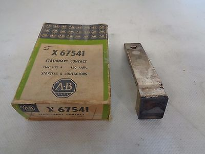 New Allen Bradley X-67541 Stationary Contact For Size 4 150 Amp
