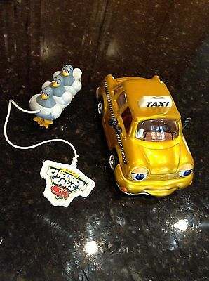 Taylor Taxi Chevron Car Limited Edition 2001 Gold EUC