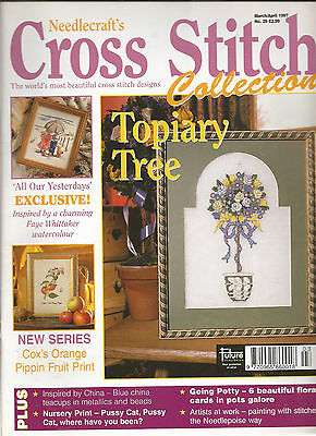 Cross Stitch Collections # 29 - All Our Yesterdays - Topiary Tree - Fruit Plant