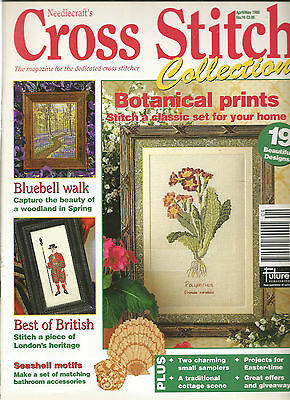 Cross Stitch Collections # 16 - Botanical Prints - Bluebell Walk - Cottage