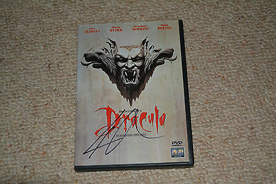 KEANU REEVES signed  Autogramm In Person DRACULA DVD