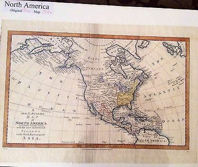 North America map C Cooke 1783-85 new and accurate map .