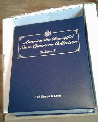 America The Beautiful Statehood Quarters Collection Pcs Stamps & Coins Mint