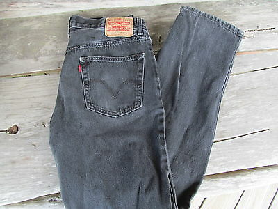LEVI'S 550 - Men's RELAXED FIT Black   Jeans Size 34/36