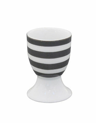 ★Krasilnikoff★ Eierbecher Stripes versch. Farben Porzellan Egg holder Neu/OVP