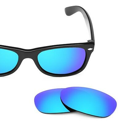SURe Polarized Blue Replacement Lenses for Ray Ban 2132 (52)