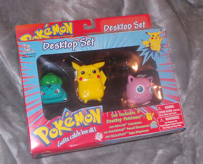 1998 Pokemon Desktop Set by Toy Island in the box