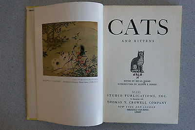 Vintage 1950 KITTENS and CATS Edited by Bryan Holme