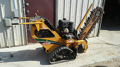 2011 Walk Behind Crawler Track Trencher VERMEER RTX100