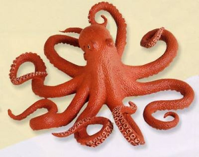 New 7 Inch Pacific Octopus Free Shipping