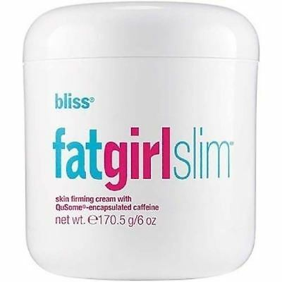Bliss Fat Girl Slim Skin Firming Cream for Women 170.5g / 6 oz Boxed