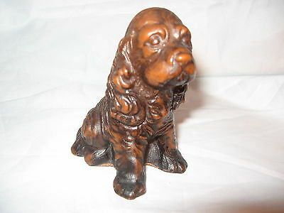 Vintage Cocker Spaniel Priory Casting Made In England