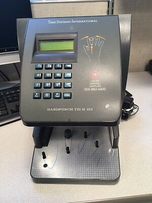 TSI Handpunch H103 hand scanner by Time Systems International