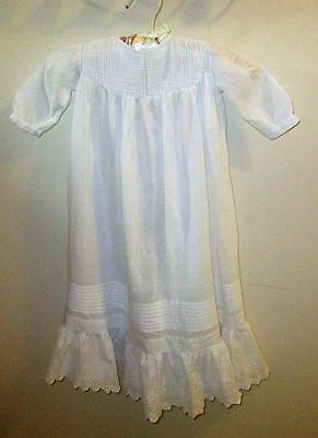 Sweet White Vintage Baby/Doll Gown Dress #5