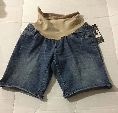 Women's Oh Baby By Motherhood Maternity Shorts Large New