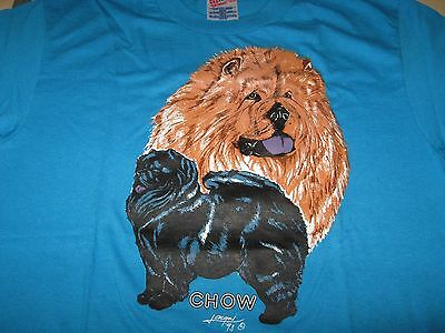 Chow Chow Tee Shirt - Blue - New - Choose your size!