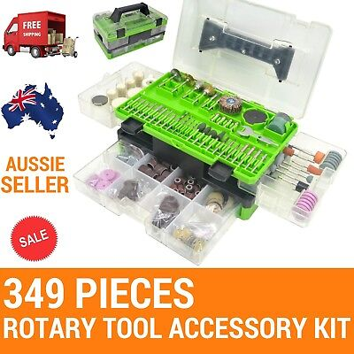 349 Rotary Tool Accessories,Fit DREMEL,OZITO,Ryobi Mini Grinders,engaving