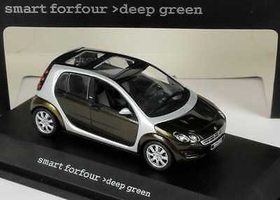 Busch Dealer-Edition OEM 1:87 Smart Forfour W454 flamered rot red