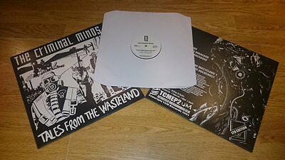 THE CRIMINAL MINDS - Tales From The Wasteland Classic UK Hip Hop Reissue