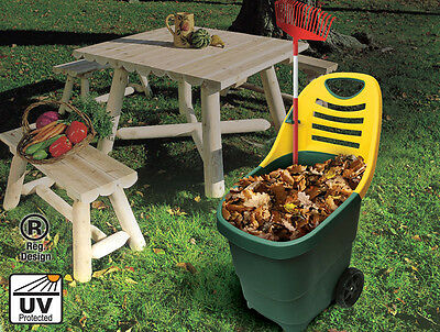 Christmas Extra Gardening Hamper - Trolley, 3-in-1 stool and Leaf Grabbers.