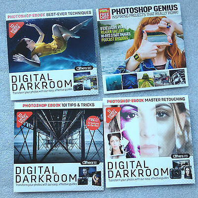 4 Photography Tutorial CDs