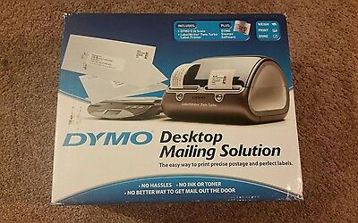 Dymo Desktop Mailing Solution Twin Turbo Postage Label Printer w/ Scale, New