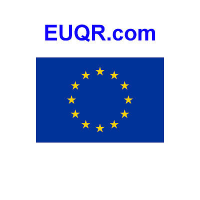 Website Domain Name EUQR.com Four 4 Letters Nine Years Old