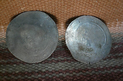 Two Islamic 1600s Silver Coins