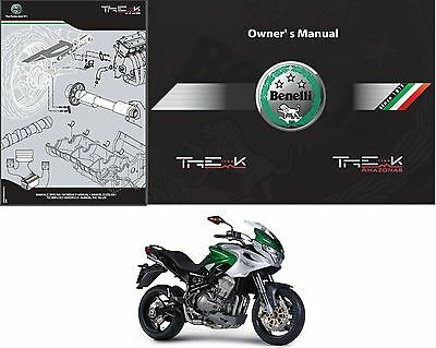 06-16 Benelli Tre 1130 K Service Repair Workshop & Parts Manual CD - TreK 1130