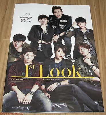 1St Look First Look Vol.82 Mama Special Edition Infinite Tabloid Magazine New