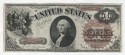 Circulated 1880 $1 Legal Tender Note--Ungraded, Fr. 28, Scofield/Gilfillan