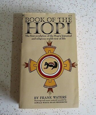 Book of the Hopi by Frank Waters  - 1971 Paperback Edition