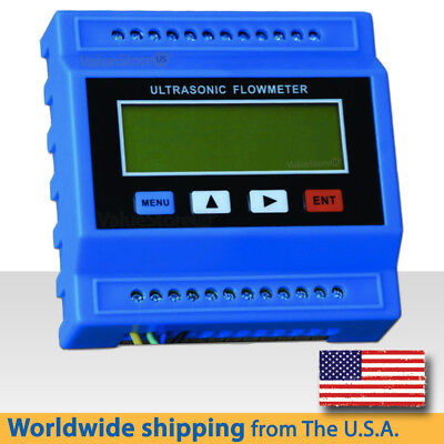TUF-2000M Ultrasonic Flow Meter with Transducers TM-1 pipe size 1.97 to 27.5''