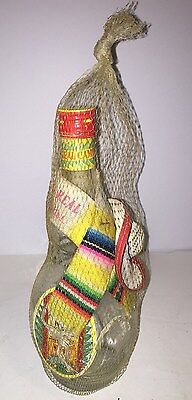 Antique vintage display advertisement authentic bottle Camino Real Gran Tequila