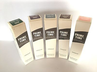 Bare Minerals Prime Time Primer Shadow 3ml ~ Waterproof ~ Various Colours