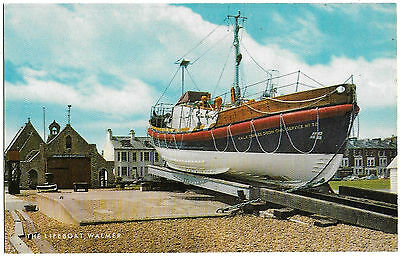 "Vintage Postcard.The Lifeboat, Walmer ""Sir Charles Dibdin"" C.S.No.32. Ref:73218"