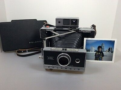 Polaroid Land Camera 250 ZEISS Film Tested....Works!!!!
