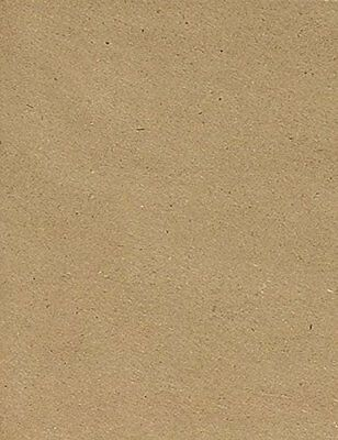 8 1/2 x 11 Cardstock - 100% Recycled - Grocery Bag Brown 50 Qty.