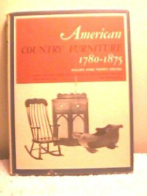"""""""AMERICAN COUNTRY FURNITURE 1780-1875"""" by KOVEL, 1965, 248 PAGES, DUST JACKET"""