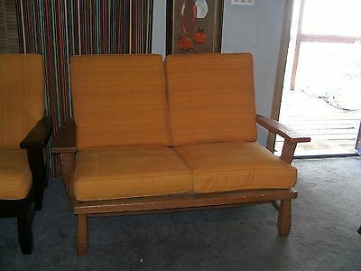 brandt ranch oak loveseat