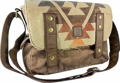 THE WALKING DEAD - Darryl's Poncho Messenger Bag (A Crowded Coop) #NEW