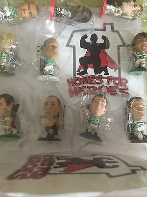 GLASGOW CELTIC F.C CORINTHIAN MICROSTARS FIGURES NEW sealed in sachet