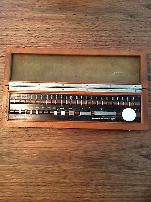 36 Piece Gauge Gage Block Set. Wood Box. Made in Germany