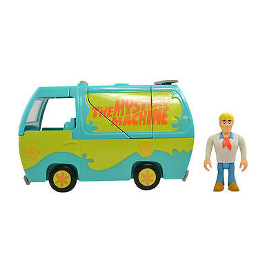 Cartoon Network Scooby-Doo Transforming Mystery Machine & Collectible Figure