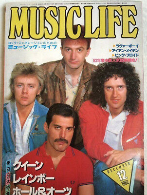 MUSIC LIFE 12/1982 Japan Music Magazine Queen